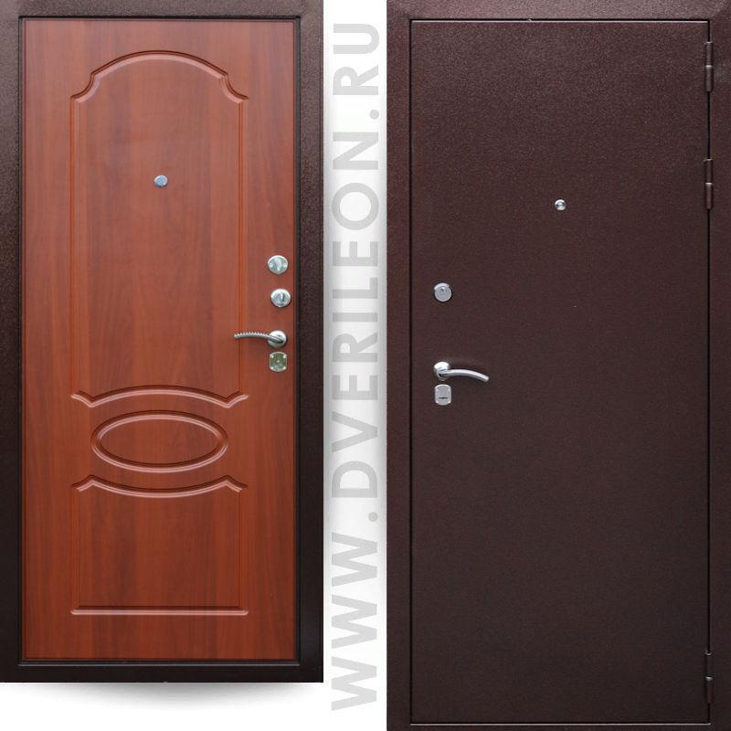 Входная дверь Премьера 200 орех на заказ в СПб Дверилеон