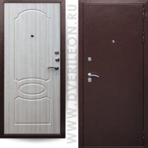 Входная дверь Премьера 202 беленый дуб на заказ в СПб Дверилеон