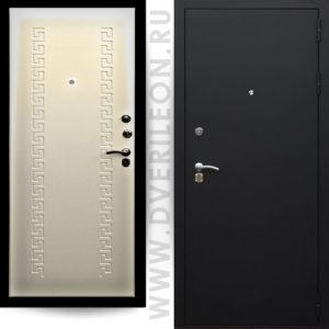 Входная дверь Премьера 301 беленый дуб на заказ в СПб Дверилеон